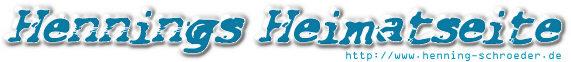 Hennings Homepage